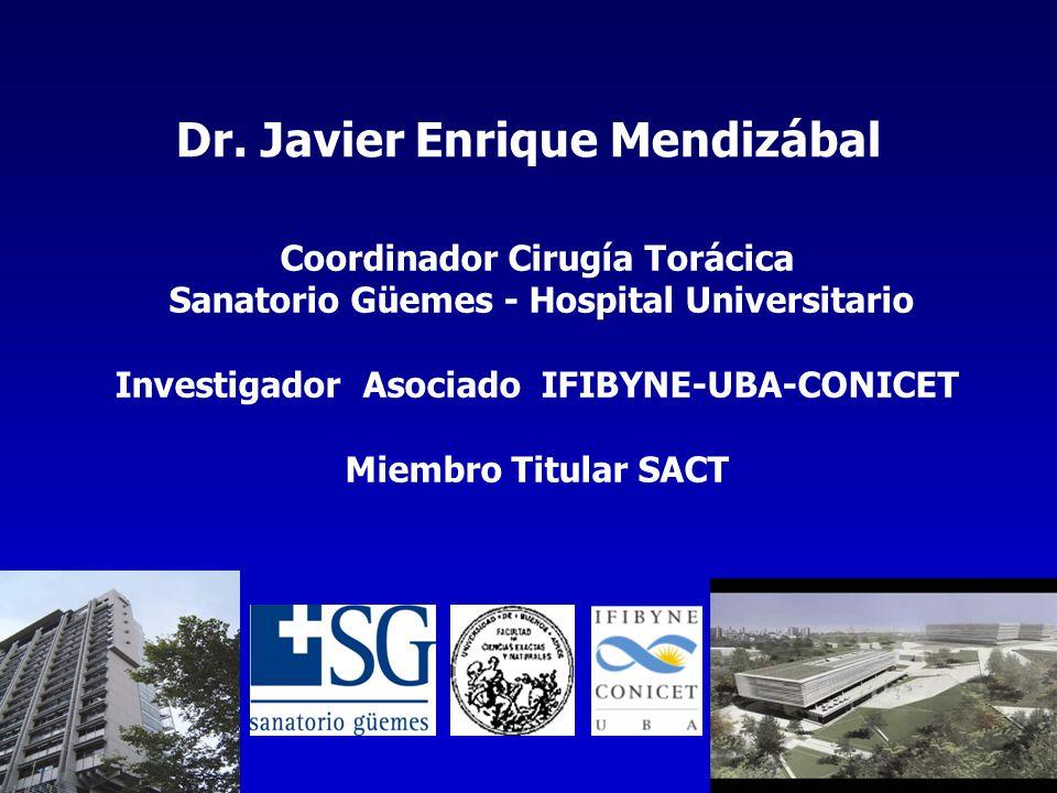 Dr. Javier Enrique Mendizábal