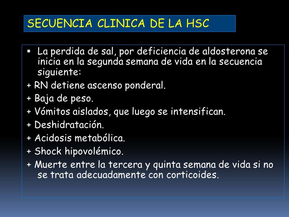 SECUENCIA CLINICA DE LA HSC
