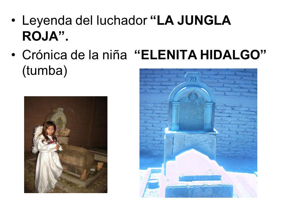Leyenda del luchador LA JUNGLA ROJA .
