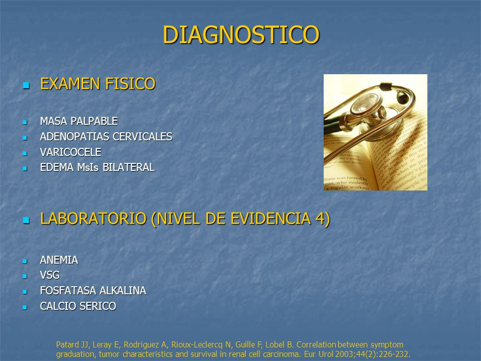 DIAGNOSTICO EXAMEN FISICO LABORATORIO (NIVEL DE EVIDENCIA 4)