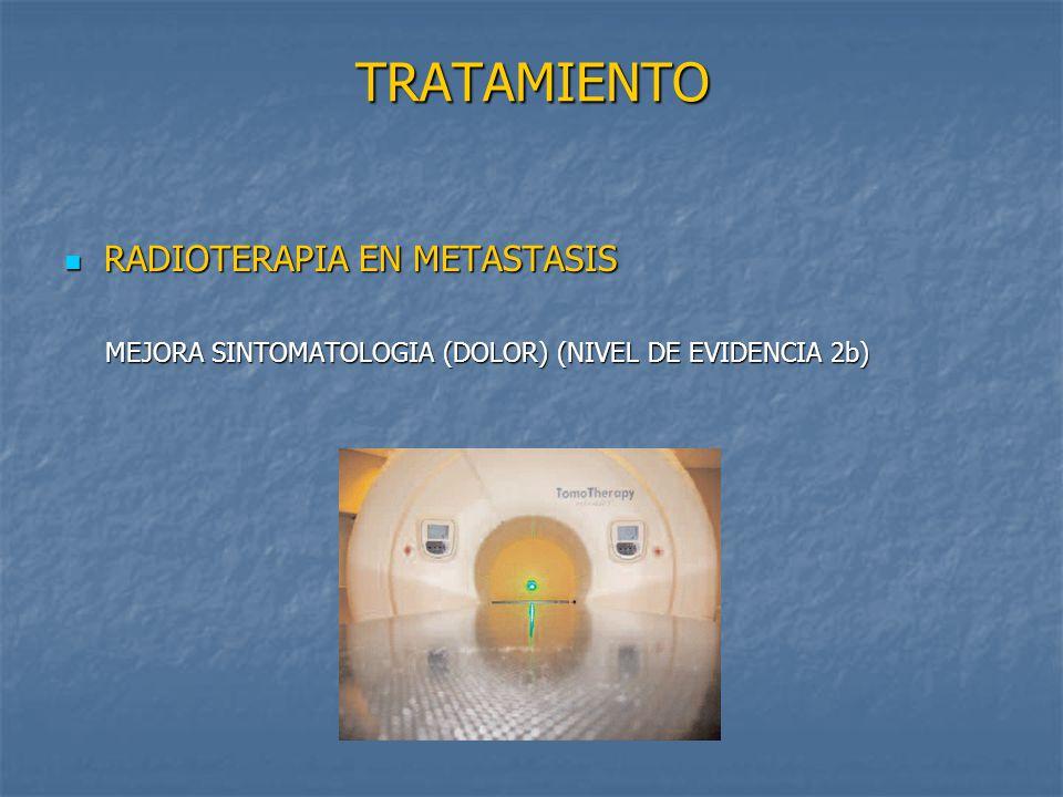TRATAMIENTO RADIOTERAPIA EN METASTASIS