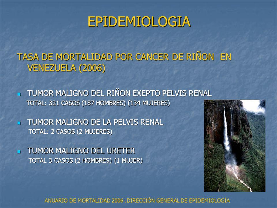 ANUARIO DE MORTALIDAD 2006 .DIRECCIÓN GENERAL DE EPIDEMIOLOGÍA