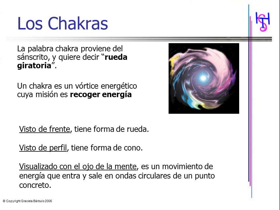 Los Chakras La palabra chakra proviene del sánscrito, y quiere decir rueda giratoria .