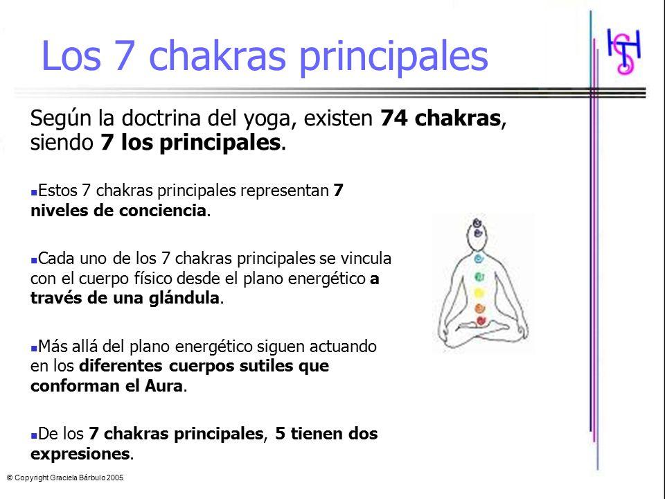 Los 7 chakras principales