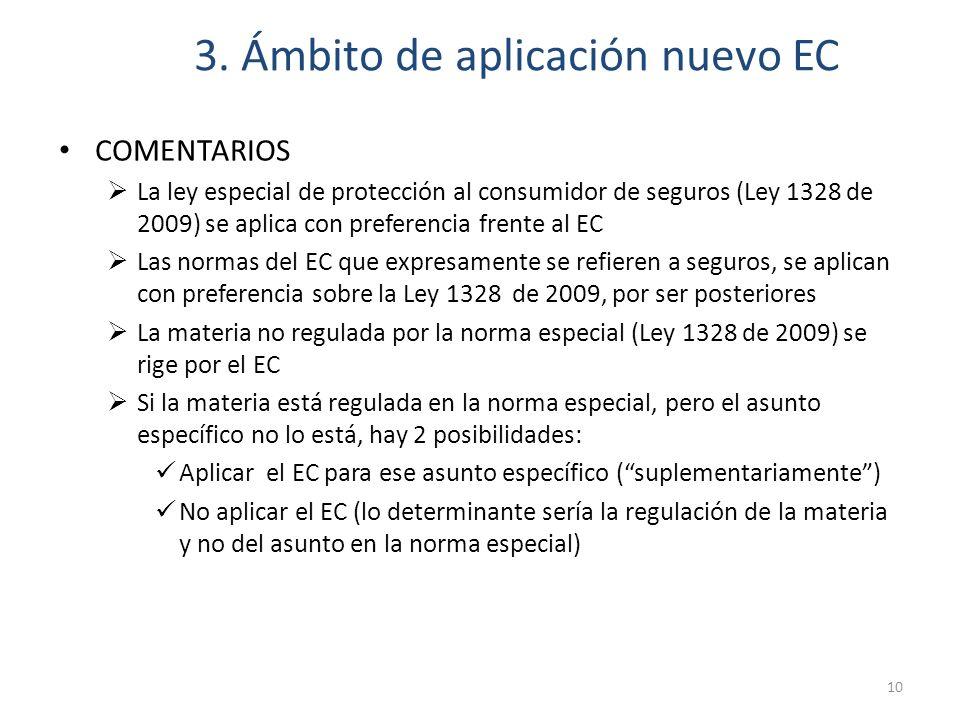 3. Ámbito de aplicación nuevo EC