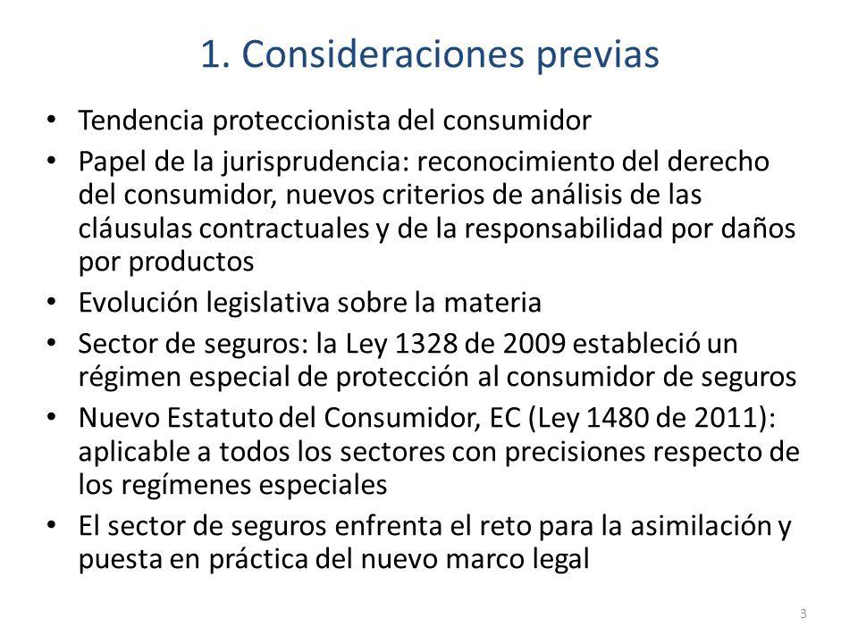 1. Consideraciones previas