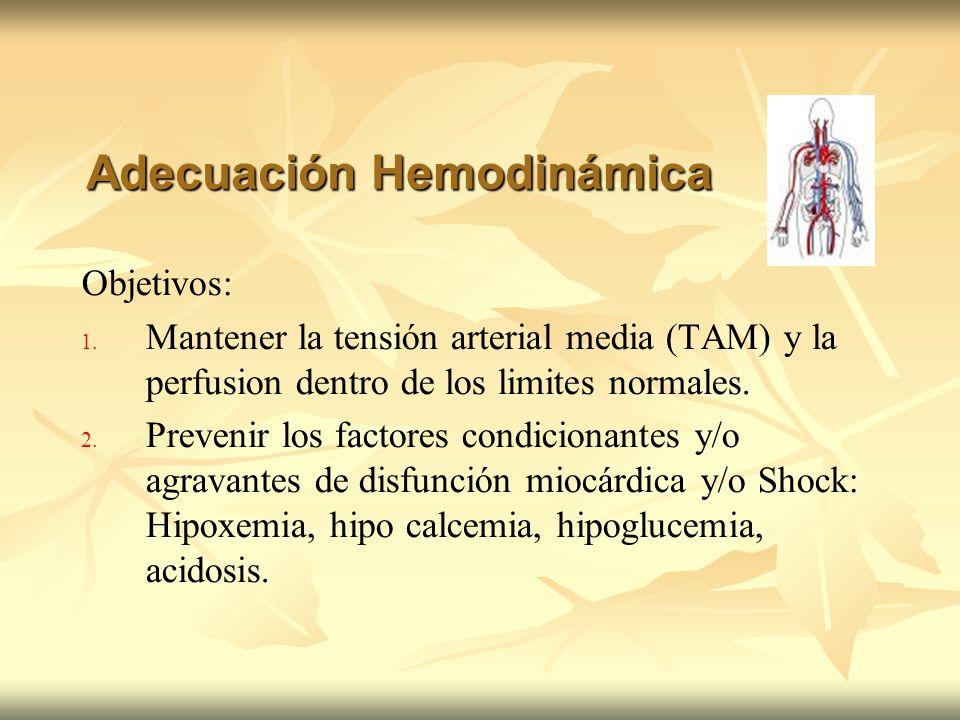 Adecuación Hemodinámica