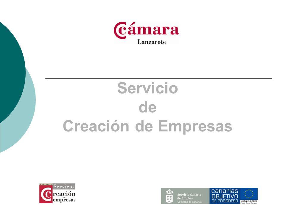 Servicio de Creación de Empresas