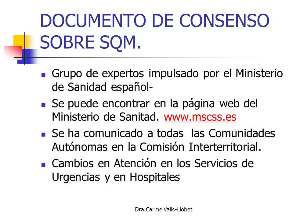 DOCUMENTO DE CONSENSO SOBRE SQM.