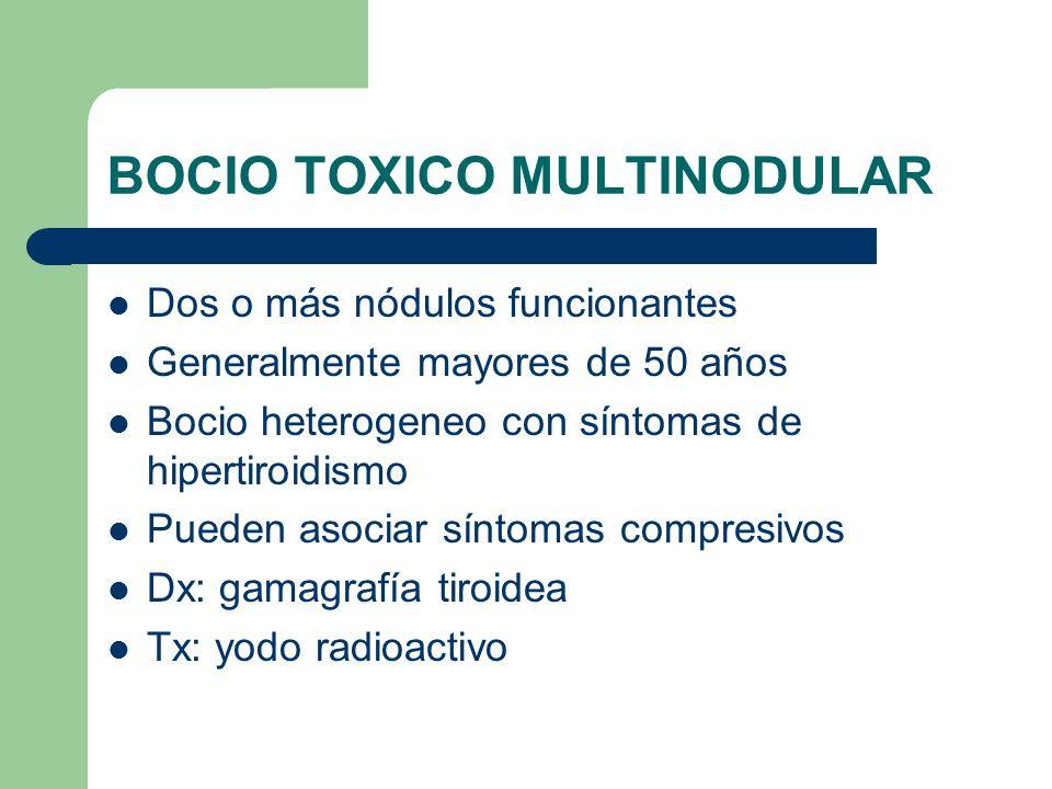 BOCIO TOXICO MULTINODULAR