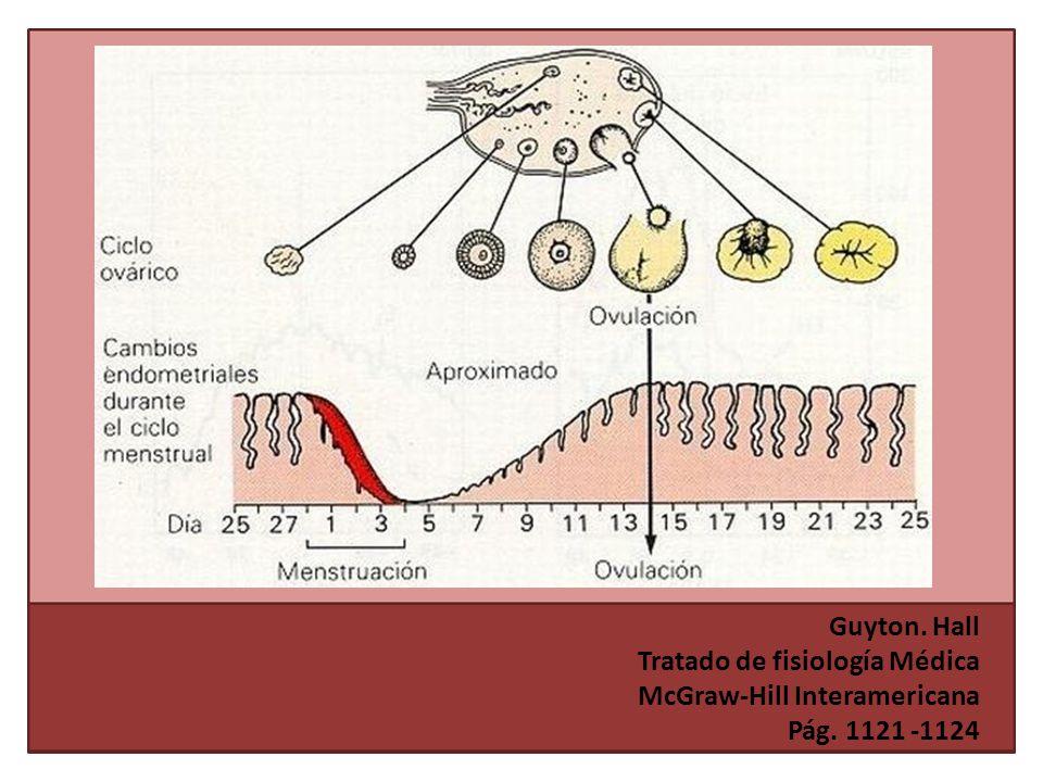 Guyton. Hall Tratado de fisiología Médica McGraw-Hill Interamericana Pág. 1121 -1124