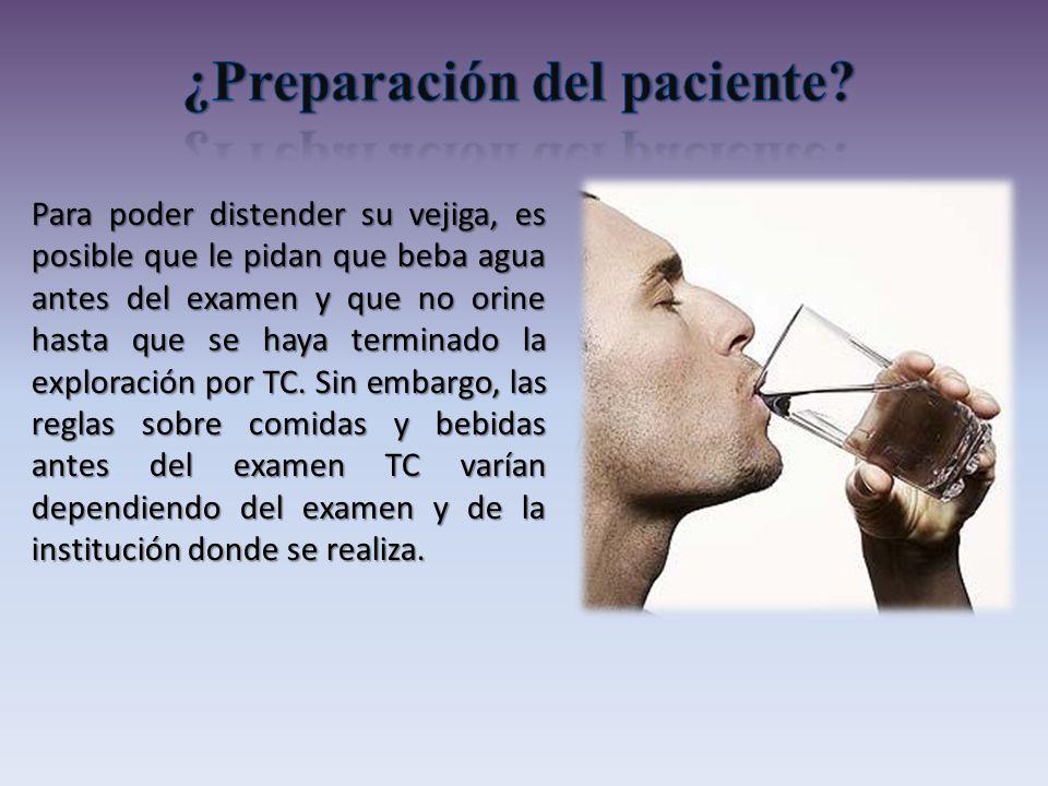 ¿Preparación del paciente