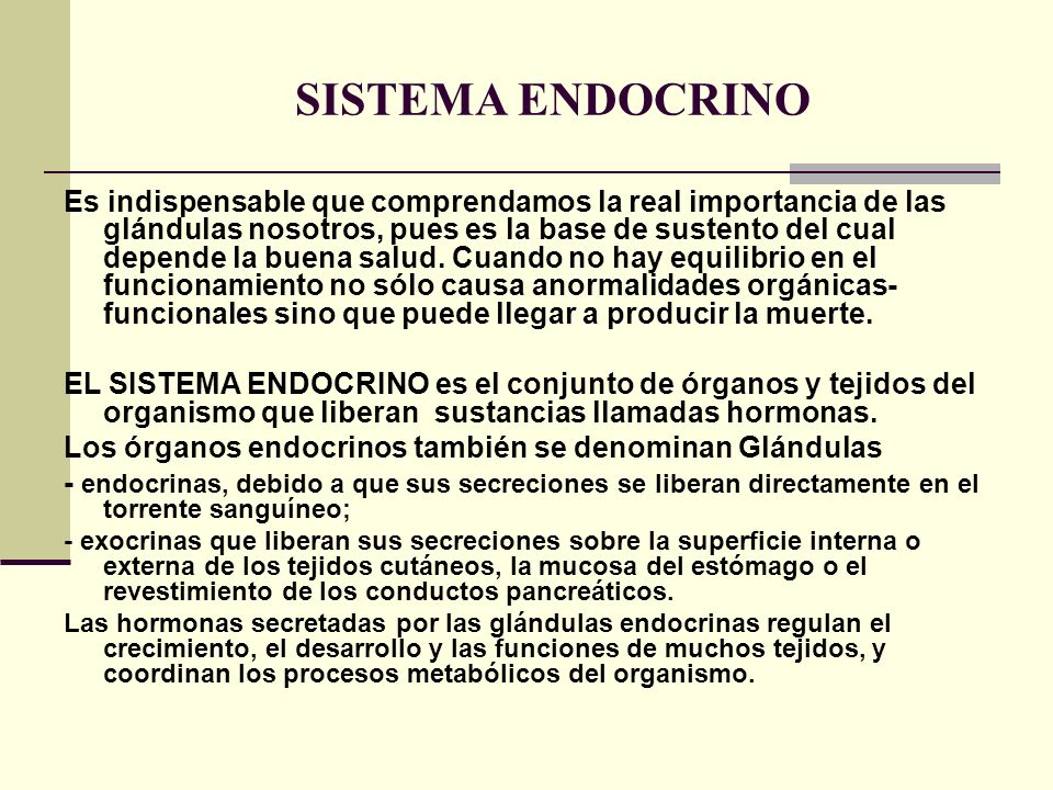 Atractivo Importancia Del Sistema Endocrino Bosquejo - Imágenes de ...