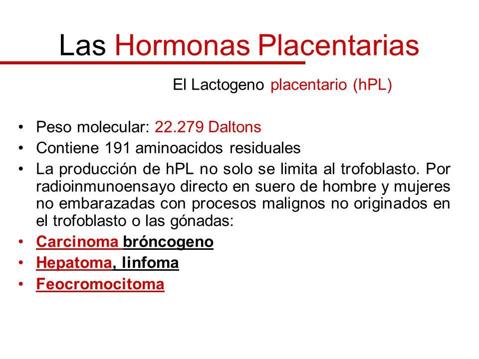 Las Hormonas Placentarias