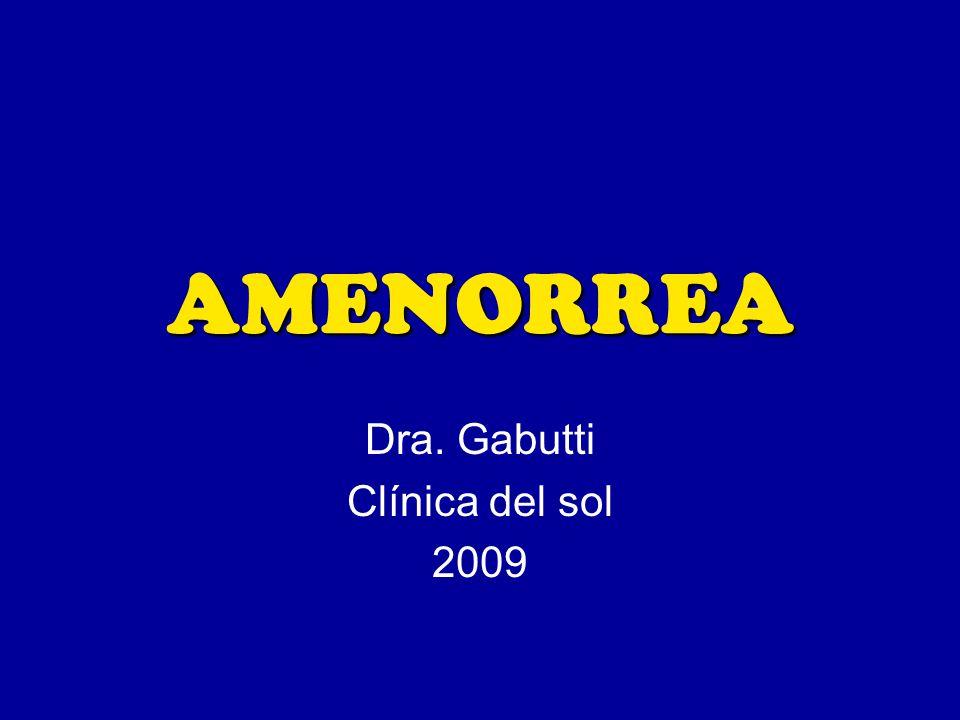 Dra. Gabutti Clínica del sol 2009