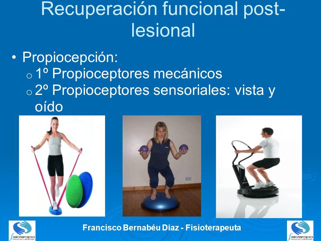 Recuperación funcional post-lesional