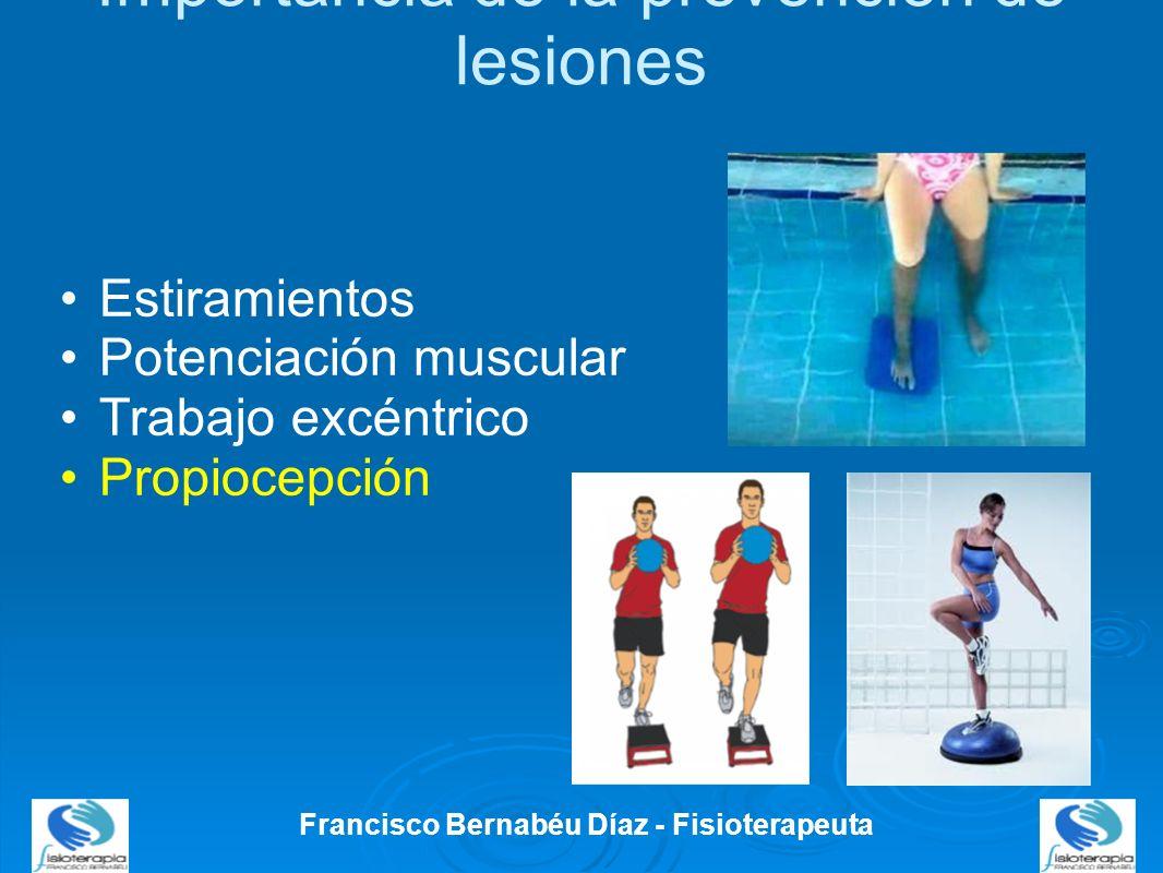 Importancia de la prevención de lesiones