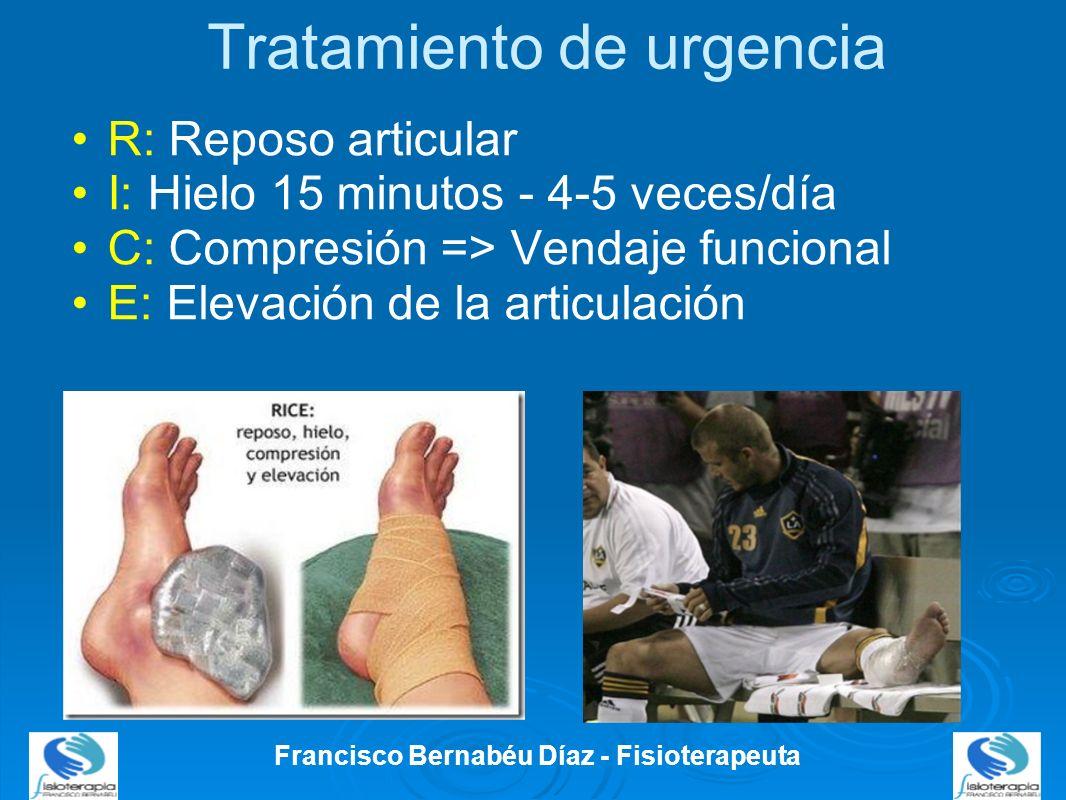 Tratamiento de urgencia