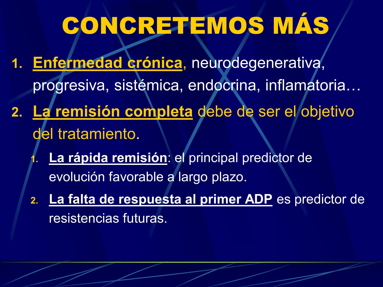 CONCRETEMOS MÁS Enfermedad crónica, neurodegenerativa, progresiva, sistémica, endocrina, inflamatoria…