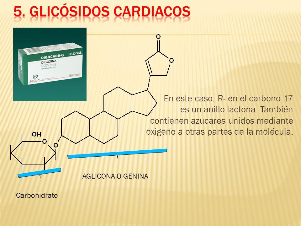 5. Glicósidos Cardiacos
