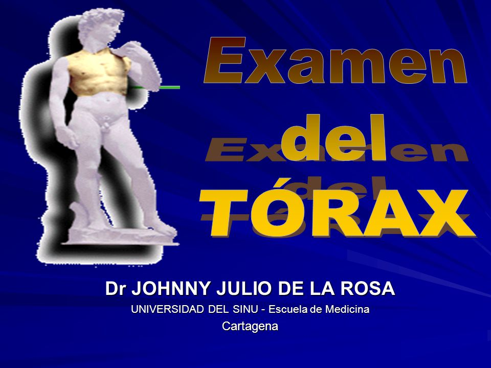 Dr JOHNNY JULIO DE LA ROSA