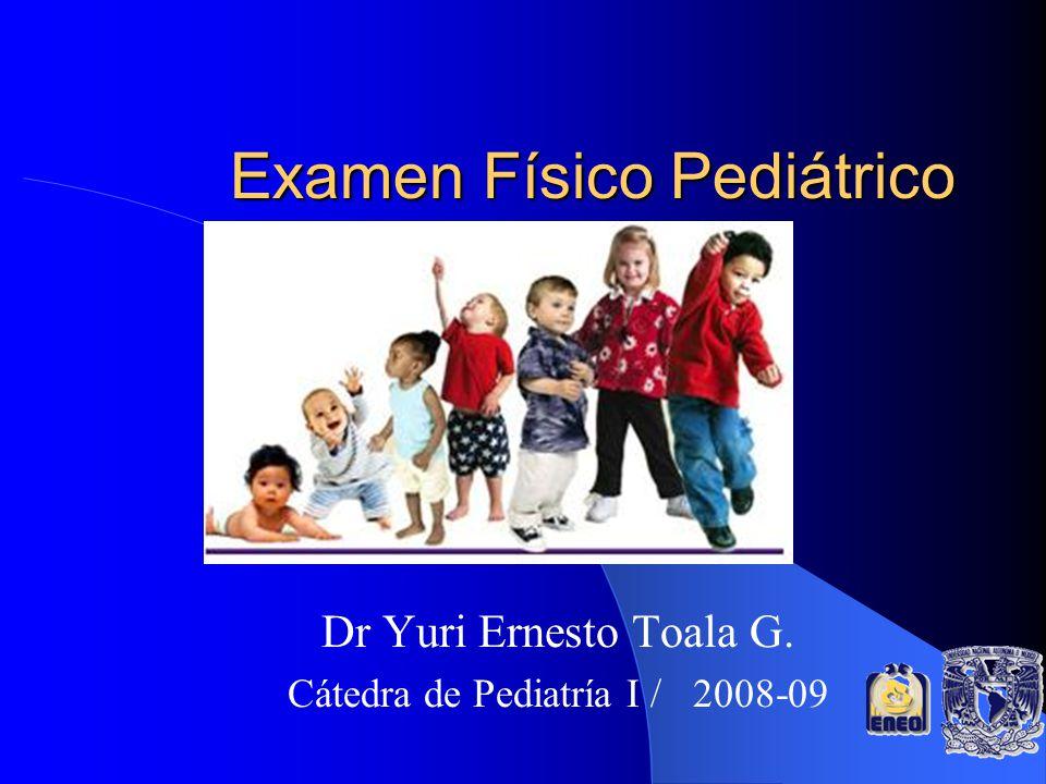 Examen Físico Pediátrico