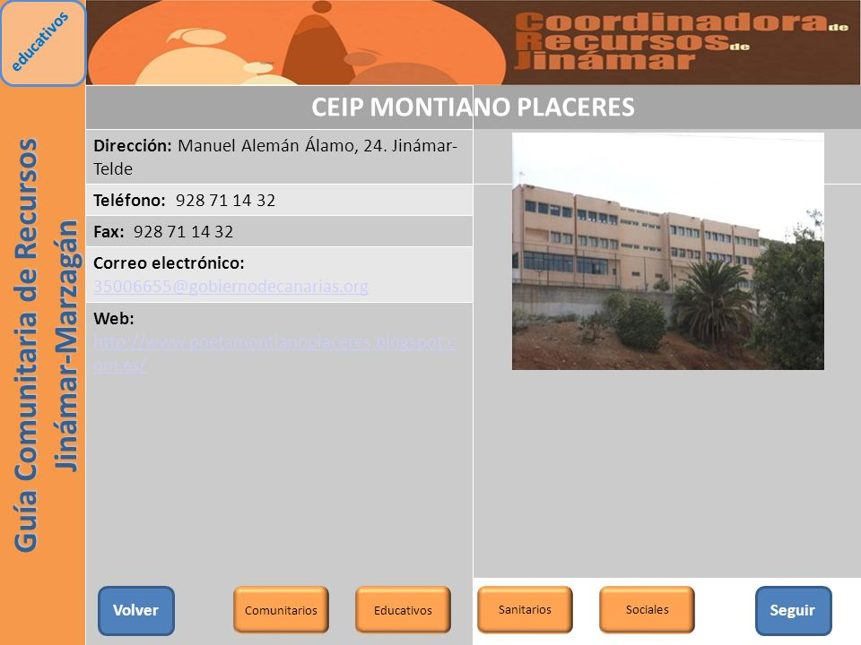 CEIP MONTIANO PLACERES