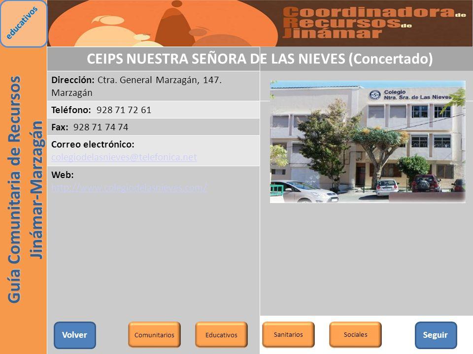 CEIPS NUESTRA SEÑORA DE LAS NIEVES (Concertado)