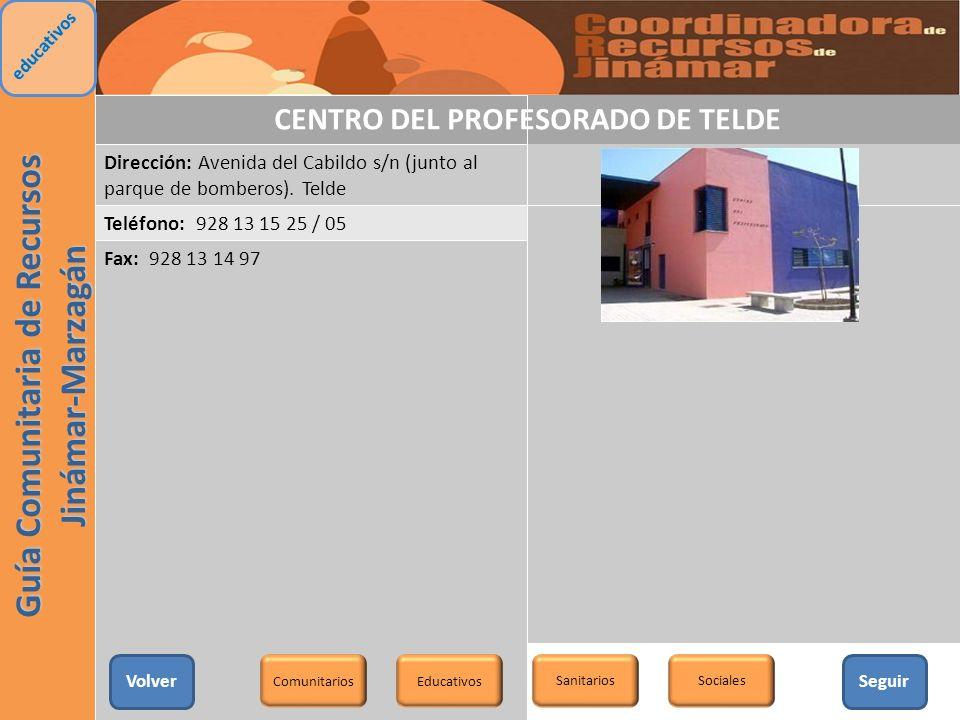 CENTRO DEL PROFESORADO DE TELDE