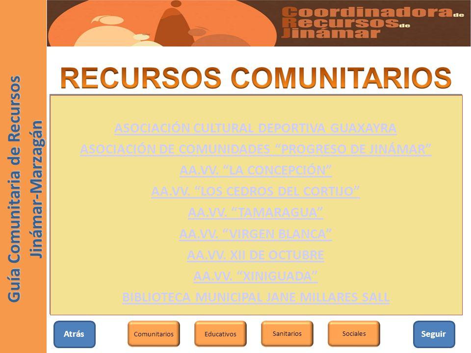 Guía Comunitaria de Recursos Jinámar-Marzagán