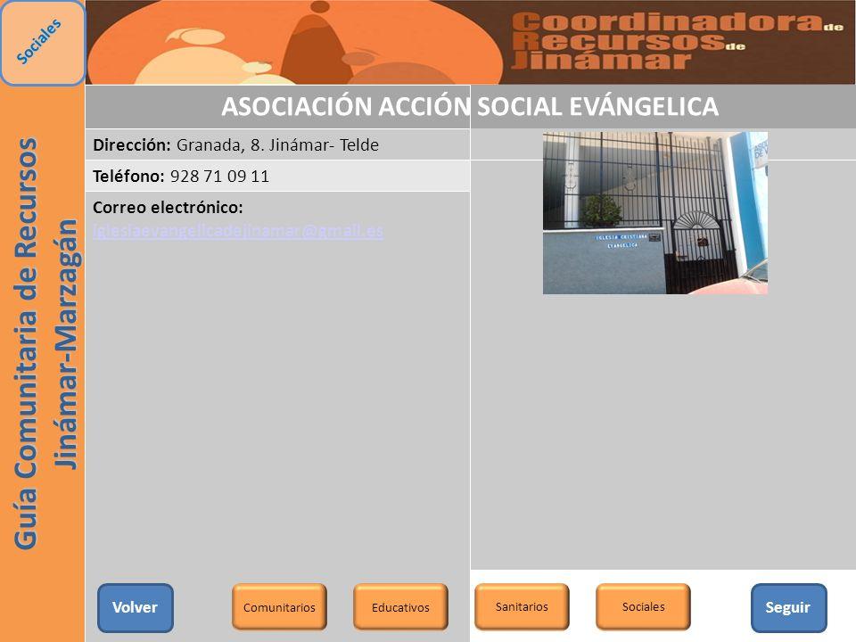 ASOCIACIÓN ACCIÓN SOCIAL EVÁNGELICA