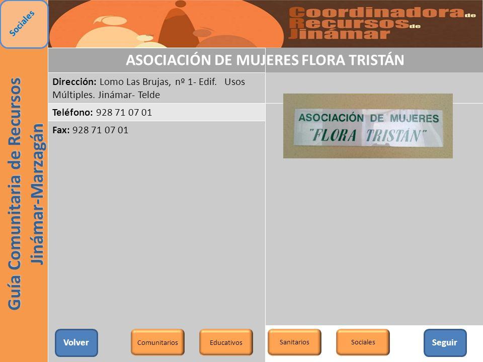 ASOCIACIÓN DE MUJERES FLORA TRISTÁN