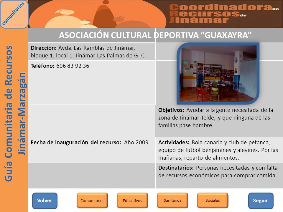 ASOCIACIÓN CULTURAL DEPORTIVA GUAXAYRA