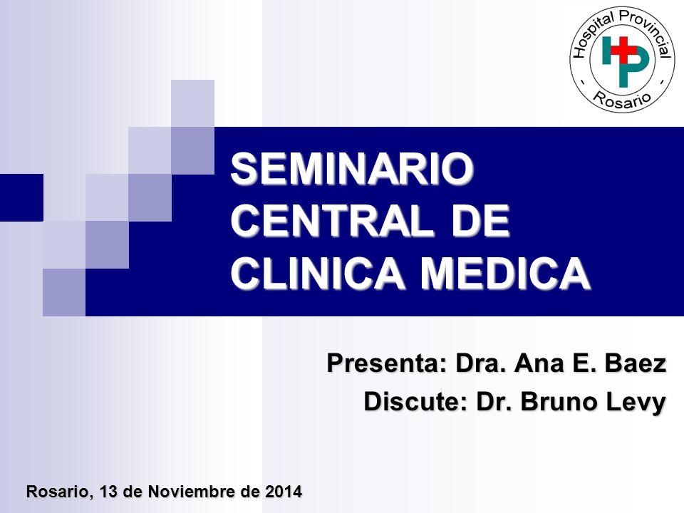 SEMINARIO CENTRAL DE CLINICA MEDICA