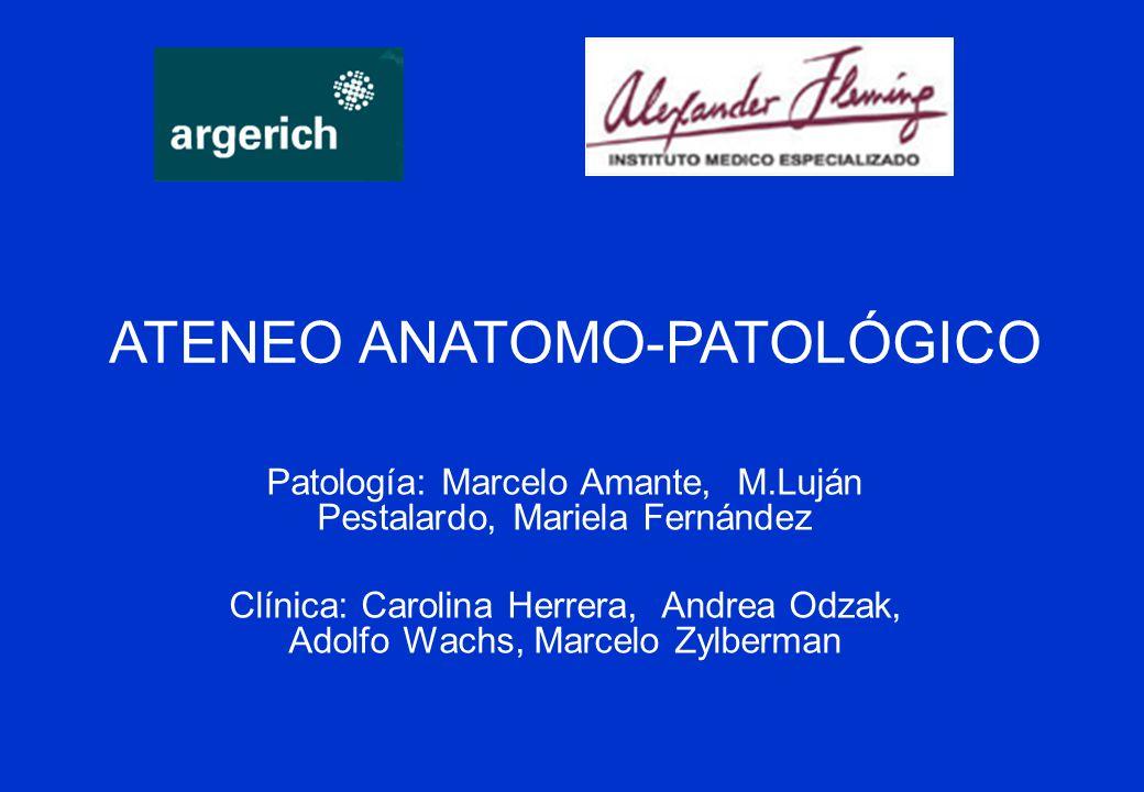 ATENEO ANATOMO-PATOLÓGICO