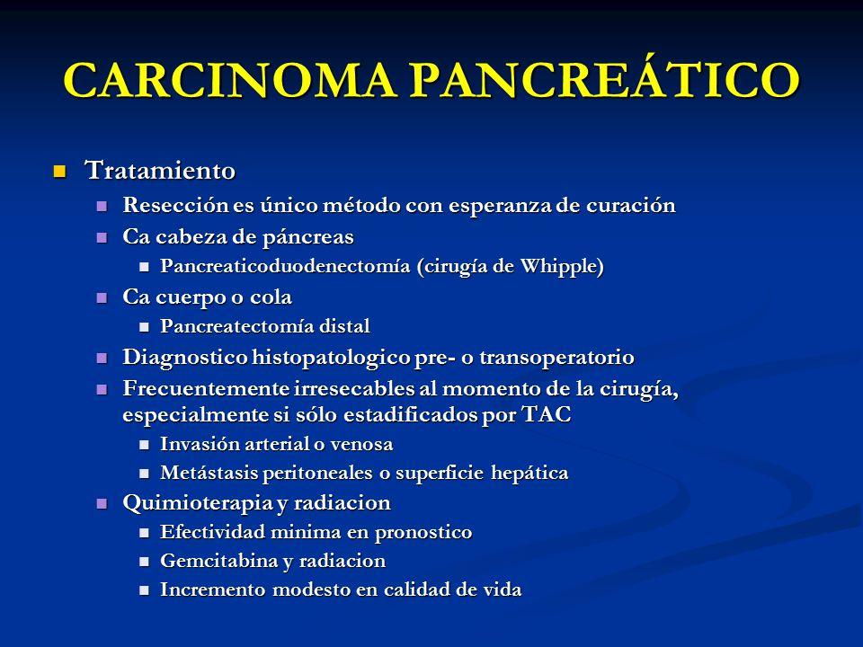 CARCINOMA PANCREÁTICO
