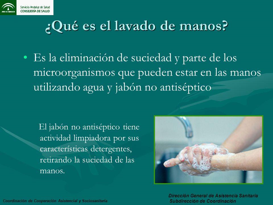 ¿Qué es el lavado de manos