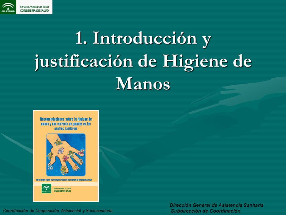 1. Introducción y justificación de Higiene de Manos