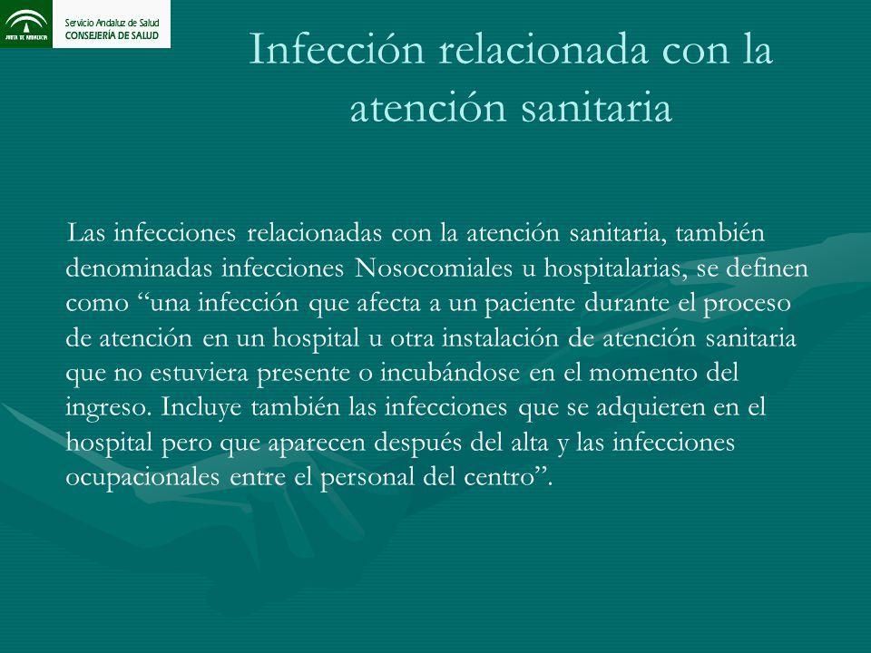Infección relacionada con la atención sanitaria