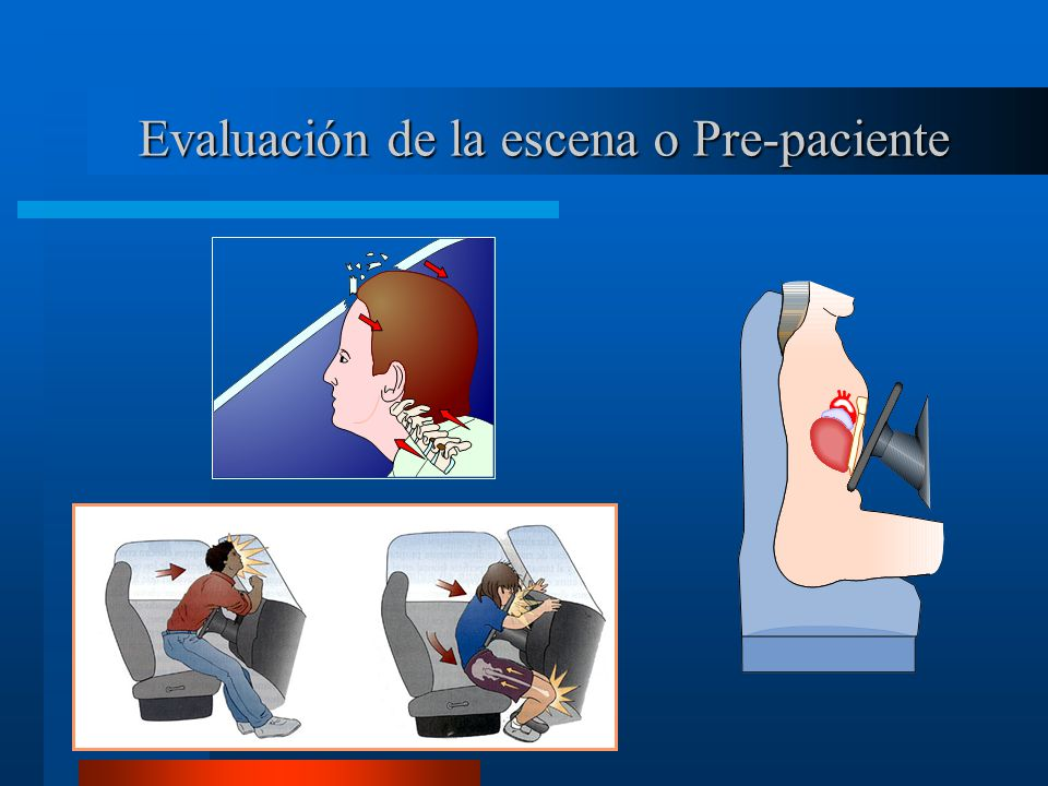 Evaluación de la escena o Pre-paciente
