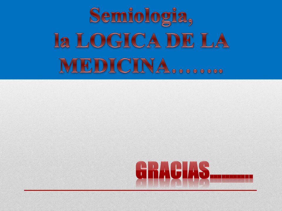 la LOGICA DE LA MEDICINA……..