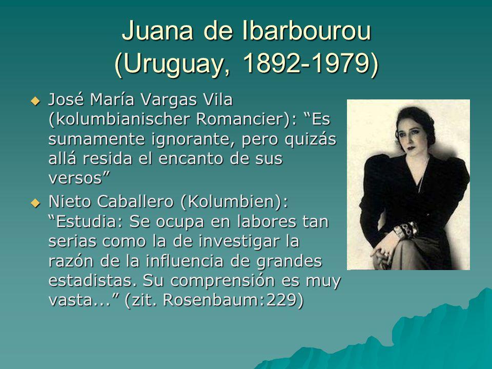 Juana de Ibarbourou (Uruguay, 1892-1979)