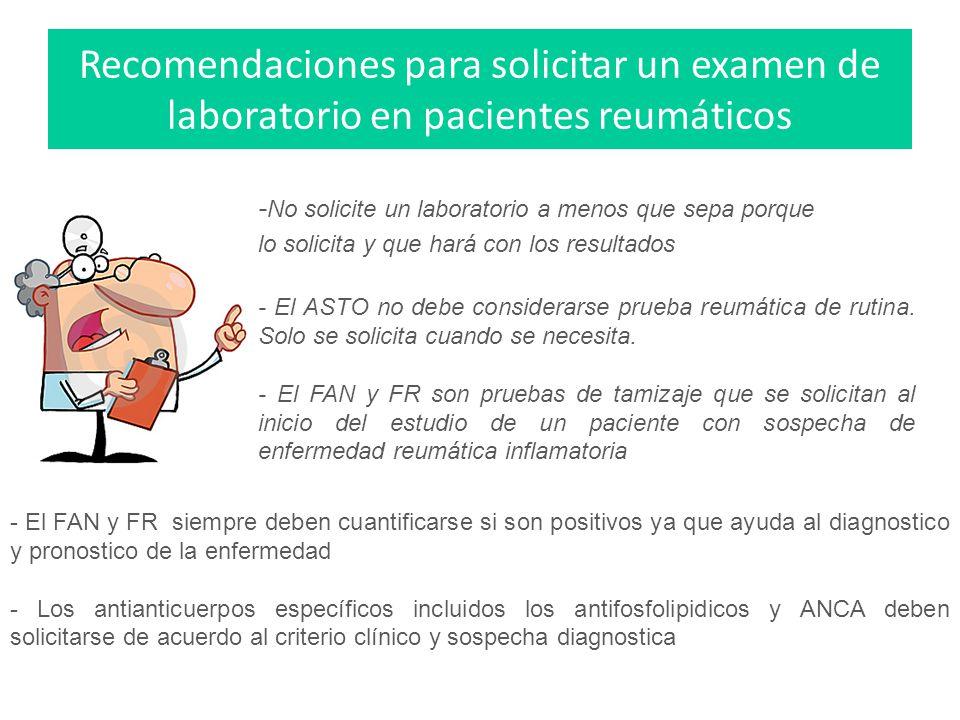 Enfoque diagnostico del paciente con patología reumática