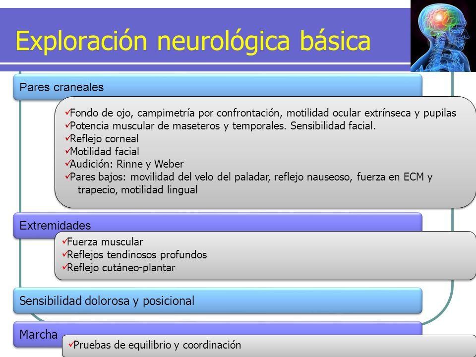 Exploración neurológica básica