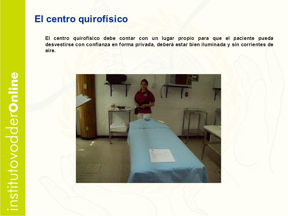 El centro quirofísico