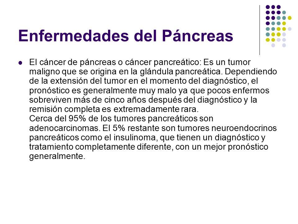 Enfermedades del Páncreas