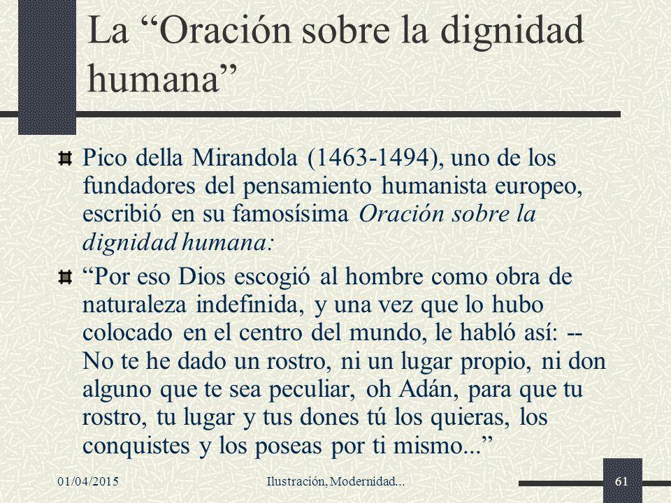 La Oración sobre la dignidad humana