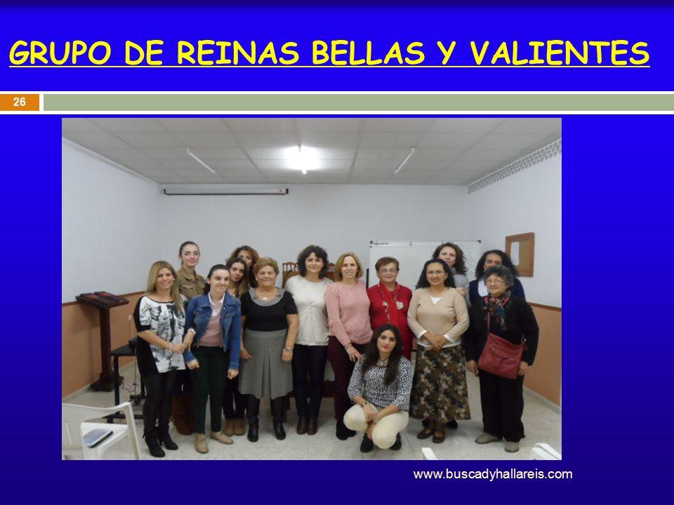 GRUPO DE REINAS BELLAS Y VALIENTES