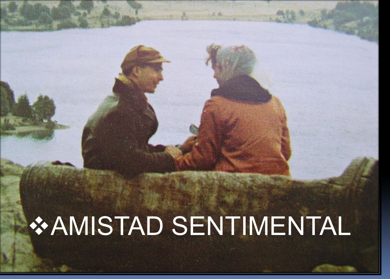AMISTAD SENTIMENTAL