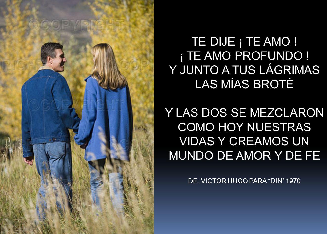 COMO HOY NUESTRAS VIDAS Y CREAMOS UN MUNDO DE AMOR Y DE FE